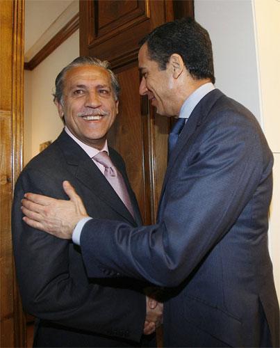 Diego López Garrido y Eduardo Zaplana