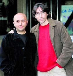 David Trueba y Luis Alegre, de estreno