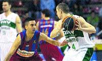 El Barcelona sigue tercero