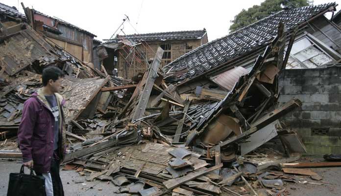 los grandes terremotos: