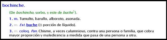 Bochinche