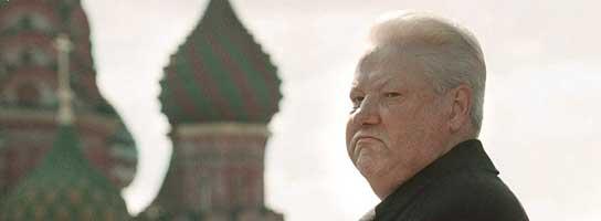 Yeltsin en la Plaza Roja (Efe)