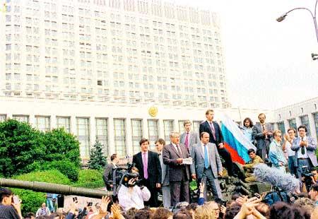 Boris Yeltsin muere