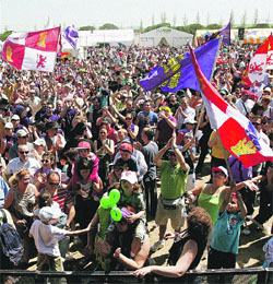 Fiesta muy veraniega con 25.000 personas en Villalar