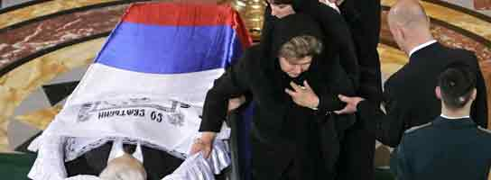 Funeral Yeltsin