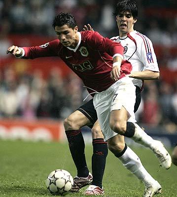 Kaká y Cristiano Ronaldo