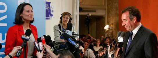 Royal vs Bayrou (Agencias)