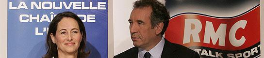 Ambiente distendido en un debate sin precedentes entre Ségolène y Bayrou