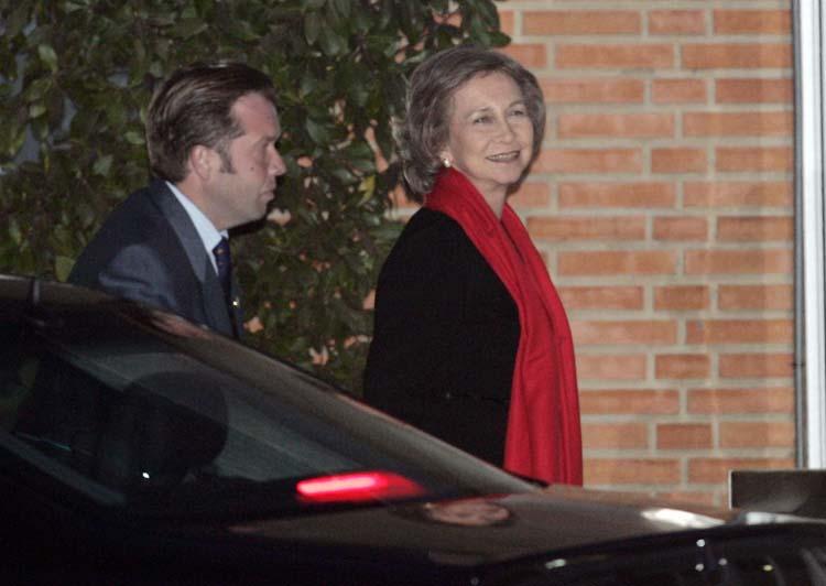 La Reina llega a Ruber
