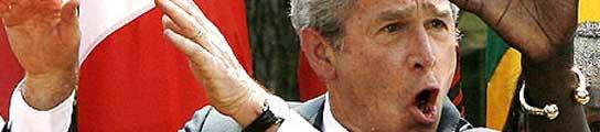 Bush, bailando. (Foto: Archivo)