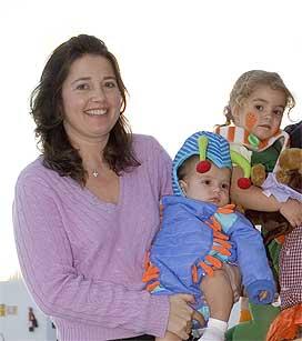 Alexia de Grecia y su familia