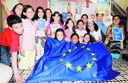Celebran el día de Europa
