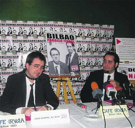 'Bilbao, paraíso fiscal', la promesa con más humor