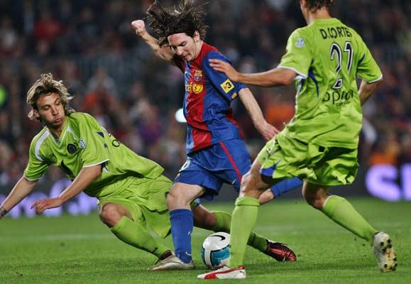 Messi contra el Getafe