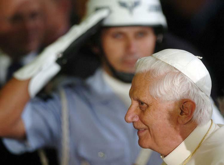 El Papa, en Sao Paulo