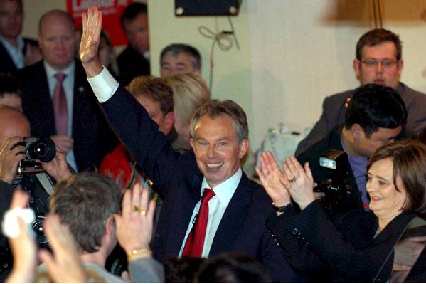 Blair se despide (Efe)