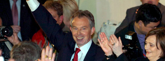 Blair se despide (Efe)