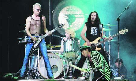 Los veteranos Scorpions, estrella de Mediatic Festival.