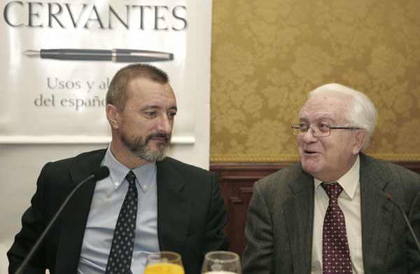 Perez-Reverte y Gregorio Salvador