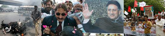 Enfrentamientos en Karachi