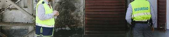 El apeadero de Renfe del barrio de Ugare, en Guipuzcoa, tras ser atacado.
