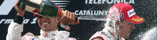 Alonso y Hamilton