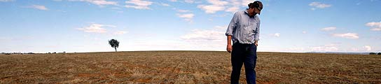 Los efectos del calentamiento global se dejan notar en los campos