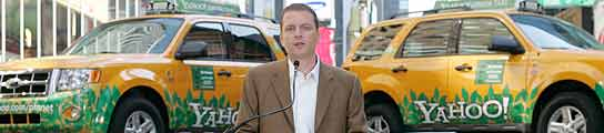 Yahoo premiará a la ciudad más verde con una flota de taxis híbridos