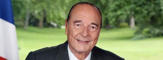 Chirac en su último discurso (Reuters)