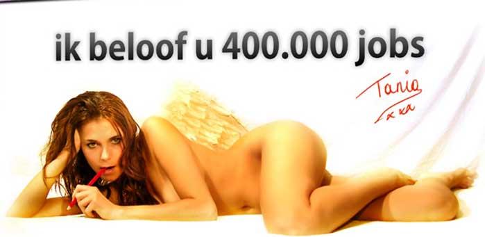 40.000 felaciones para los votantes