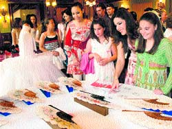 Abanicos para las novias de Alicante