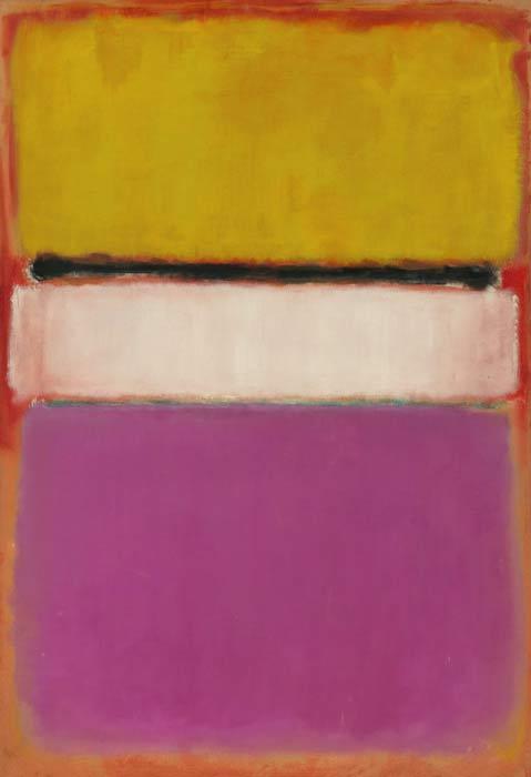 Esta pintura abstracta de Mark Rothko se ha convertido en la obra de arte contemporáneo más cara vendida en una subasta