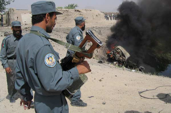 Atentado en Kandahar (EFE)