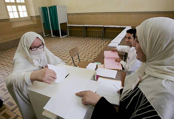 Elecciones legislativas en Argelia