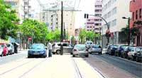 Torrefiel consigue tranvía a costa de sitio para aparcar