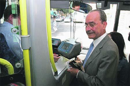 Un pasajero inusual en el autobús