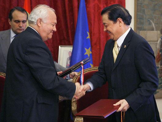 Acuerdo firmado entre España y Filipinas