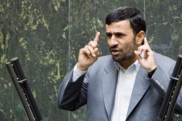 El presidente iraní, Mahmoud Ahmadinejad