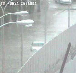 M-30 inundada