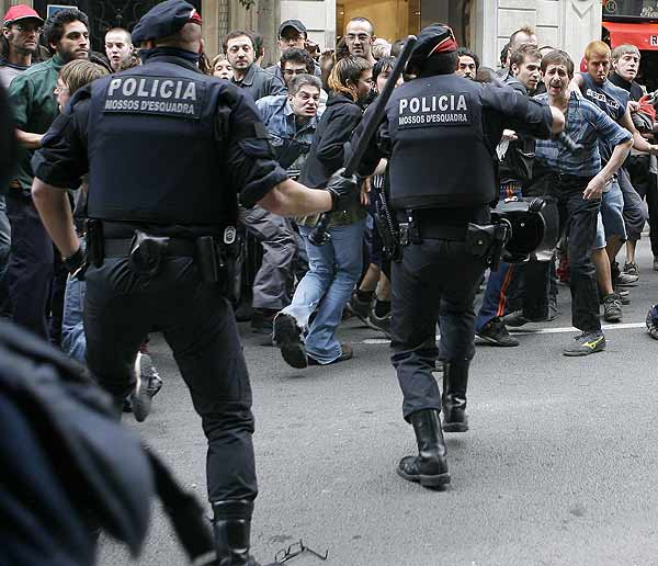 Mani Okupa Barcelona
