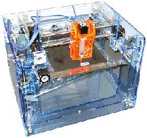 Impresora tridimensional casera (Wikipedia)