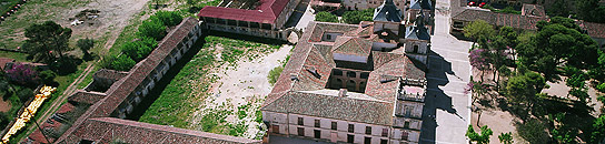 El conjunto histórico de Nuevo Baztán.