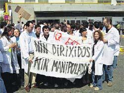 Sanidade admite que las huelgas «afectan» a las listas de espera