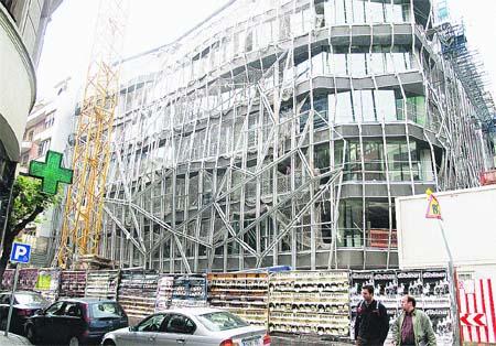 El edificio vitalista de Osakidetza coge forma
