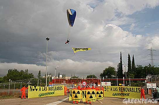 Greenpeace protesta
