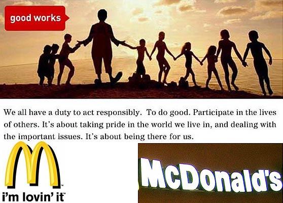 McDonald's contra el diccionario