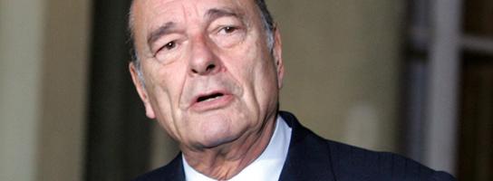 Jacques Chirac. (Efe)