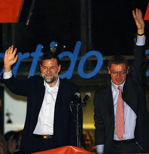 Gallardón con Rajoy