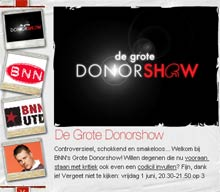 The Big Donorshow