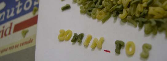 Faltan dos letras en la sopa (20MINUTOS.ES)
